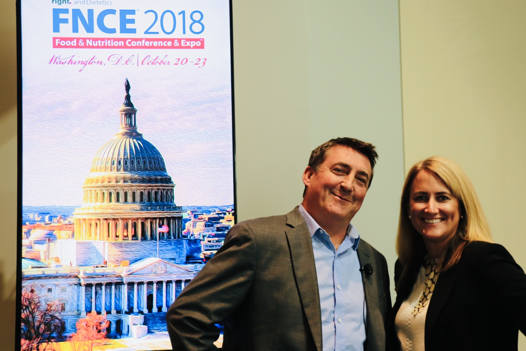 Suzanne and Chris at FNCE 2018