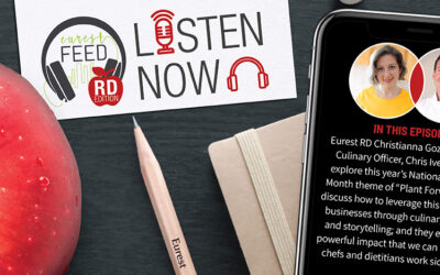 Episode 12: The Eurest Feed with Our RDs: National Nutrition Month